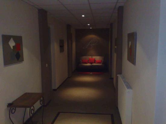 Hotel du Palais : couloir