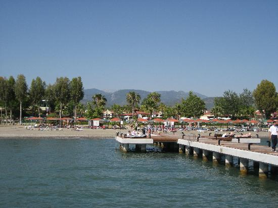 Club Tuana Fethiye: From the sea