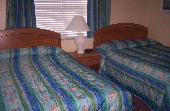 Far Horizons Motel : Bedroom