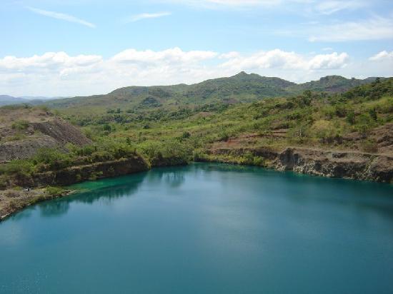 Boquete, Panama: Lago la Mina en El distrito de cañazas.