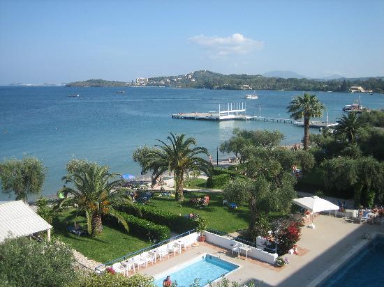 Elea Beach Hotel: Blick von unserem Balkon