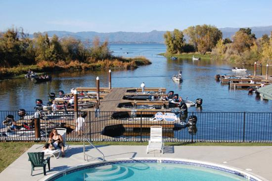 Lakeport, Californië: a Pool, Marina and Clear Lake what a Place