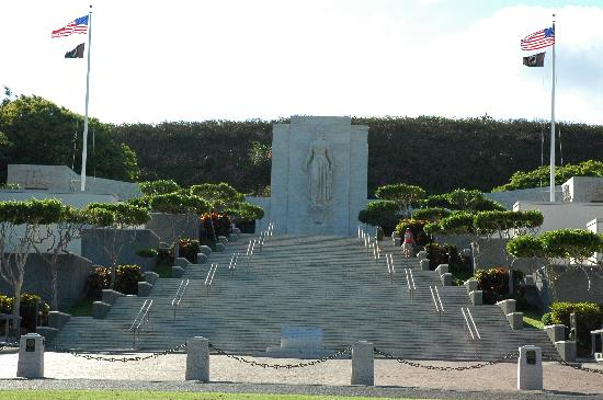 National Memorial Cemetery of the Pacific: Memorial at the cemetery