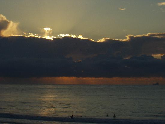 Normandie Motel: sunrise