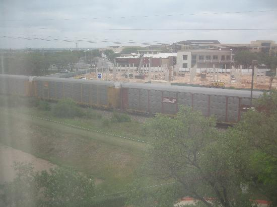 Fairfield Inn & Suites Austin Northwest/The Domain Area: The train from window of room