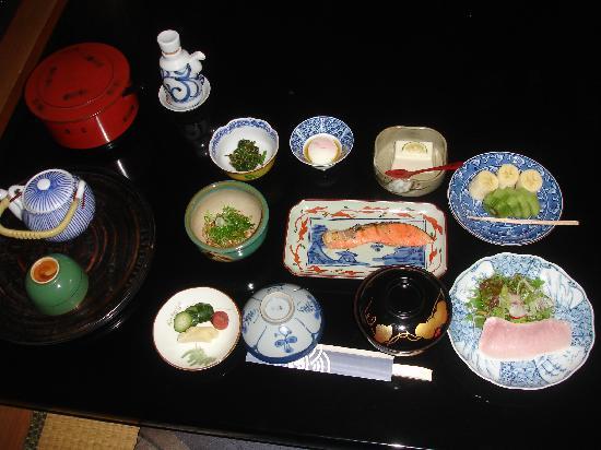 Ryokan Karatachi: Japanese Breakfast