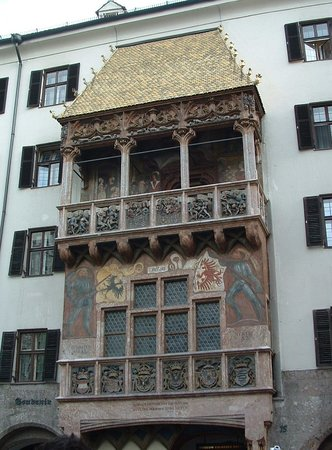 Инсбрук, Австрия: Goldenes Dachl - The Golden Roof