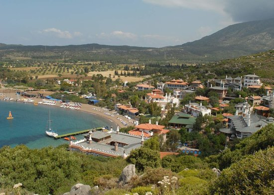 Datca, Turquia: Perili from the hill