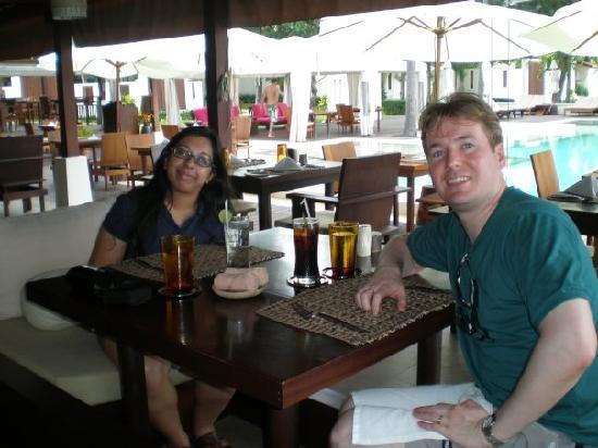 SALA Samui Choengmon Beach Resort: Breakfast on Sala's Nearby Beach