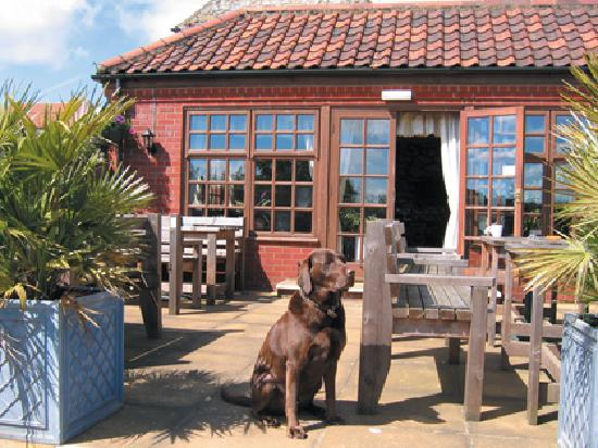 The King William IV Country Inn & Restaurant : Excellent Weather Too!!