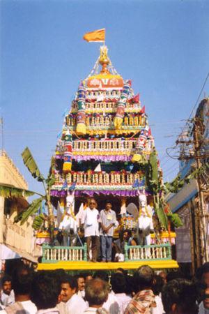 Yanam, Indien: venkannababu radha yatra