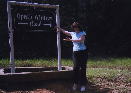 Oprah Winfrey's Birthplace: Oprah Winfrey Rd