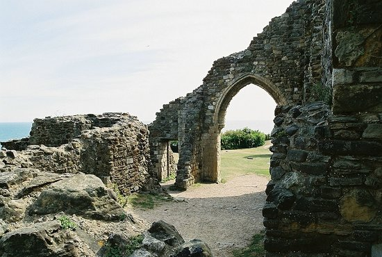 Hastings, UK: whats left of the castle