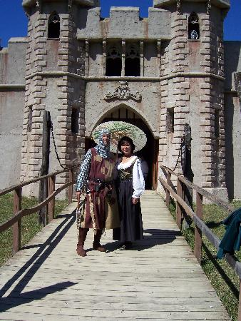 The Wooded Garden Bed & Breakfast: Me and hubby dear at Ren Faire.