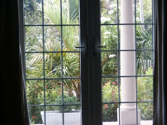 A Stone's Throw Away: view from garden room french doors