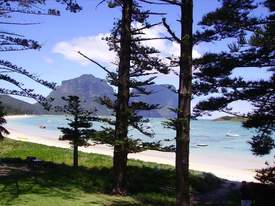 Lord Howe Island, Avustralya: Lagoon Beach, Lord Howe