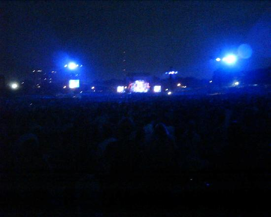 Parque Piedmont: Dave Matthews concert