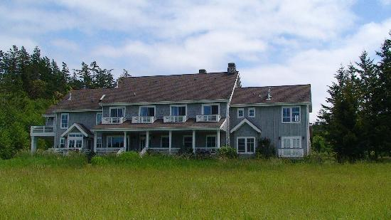 The Inn on Orcas Island: Inn on Orcas Island - view from estuary edge