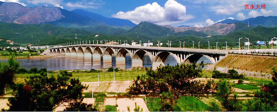 Jiangxi, China: jishui bridge