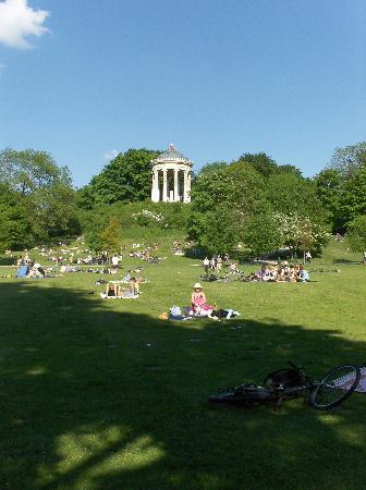 Jardín inglés: tempietto