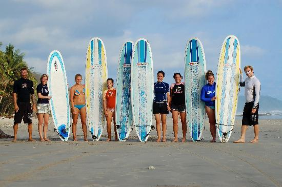 Zopilote Surfcamp: Surf beginners!
