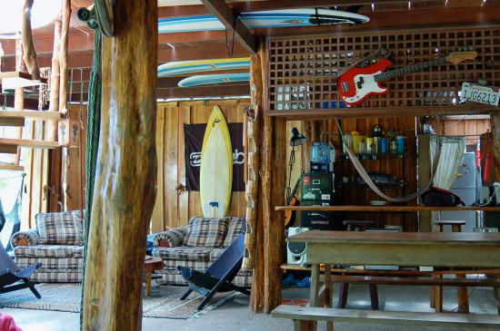 Zopilote Surfcamp: Camp!