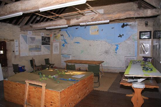 Manoir des Doyens : The Colonel's Map Room