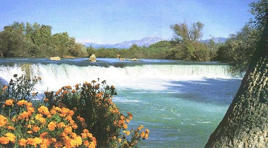 Manavgat, Turkey: Waterfall