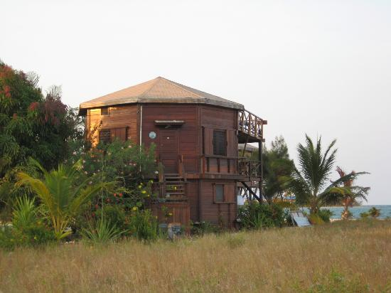 Colibri House: side view of Colibri