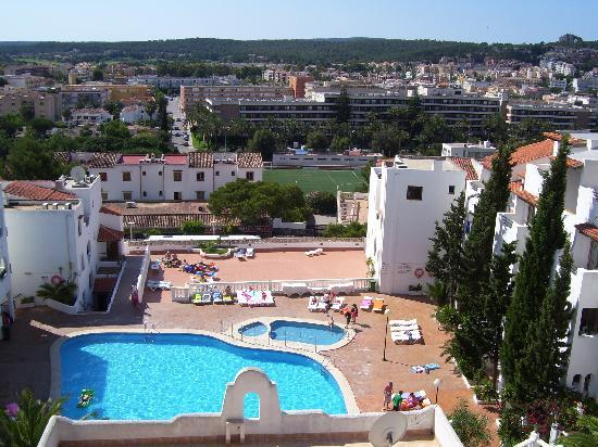 Looking Out Over Bay Picture Of Holiday Park Apartments Santa Ponsa Tripadvisor
