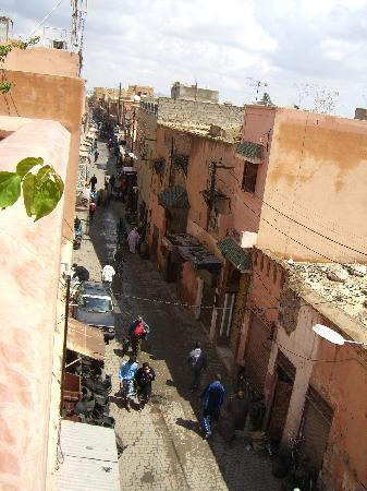 Riad Dar Anika: View from the terrace