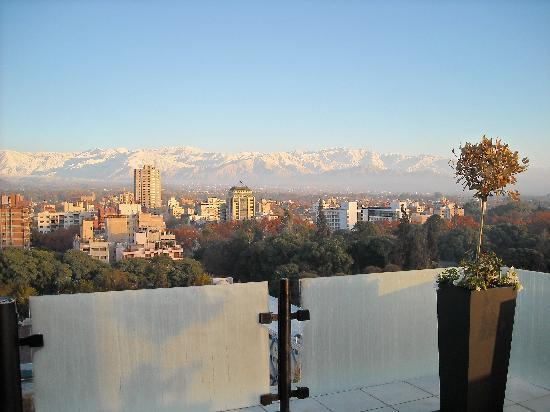 Premium Tower Suites Mendoza: View from the restaurant on the top floor of the hotel.