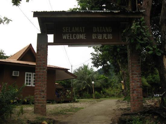 Tioman Paya Resort : The entrance to the resort