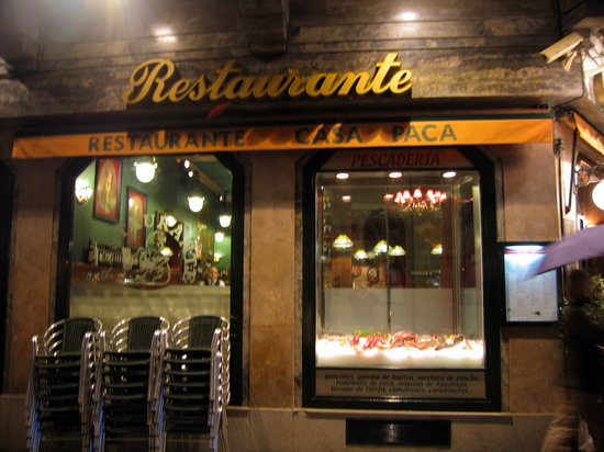 Casa Paca Restaurante: Restaurante Casa Paca - Salamanca