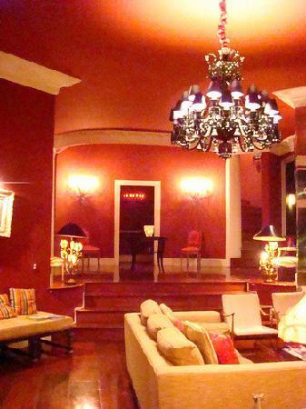 La Suite By Dussol: The luxurious lounge area at La Suite