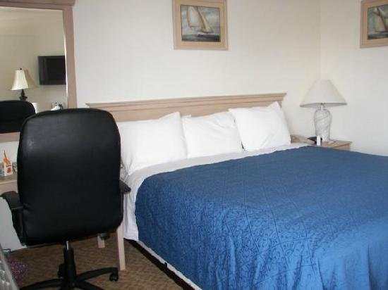 Quality Inn Pismo Beach: King size bed