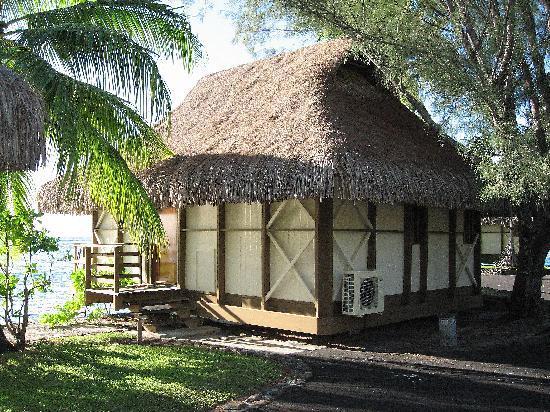 InterContinental Moorea Resort & Spa : so-called overwater bungalow