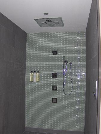 Trump International Hotel U0026 Tower Chicago: Great Shower In Spa Area