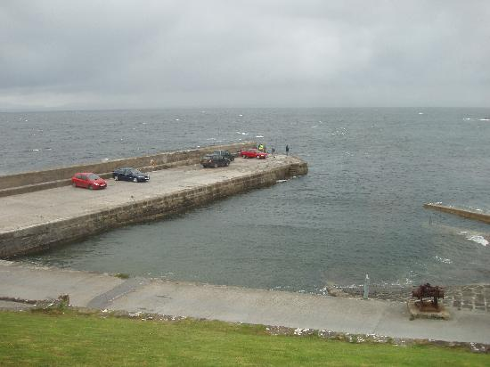 Creevy Pier Hotel: View from our room