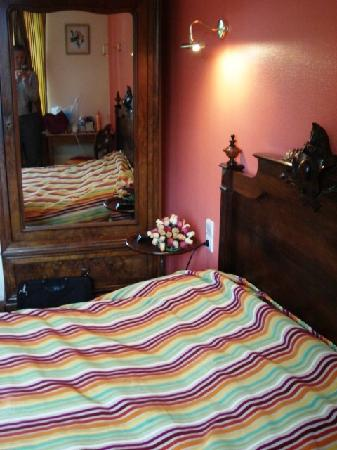Relais d'Auvergne : chambre