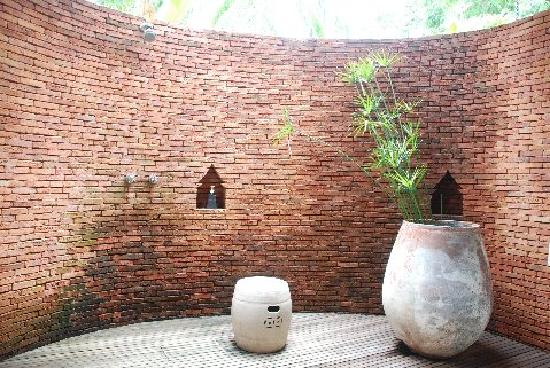 Kamalaya Koh Samui: Beautiful outdoor shower (villa #44)