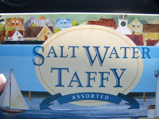 SeaCoast Inn : The Taffy that Teri gave us to thank us for our Patronage