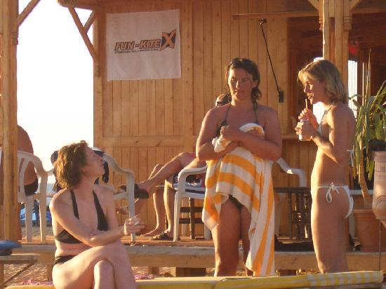 Ras Sudr, Egypt: Chilling at the surf shack