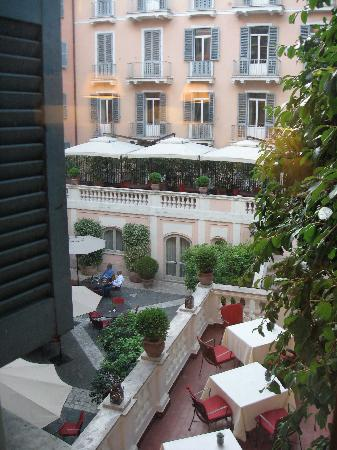 Hotel De Russie: View from my room