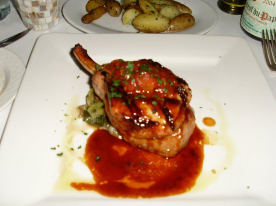 Frascati: The Pork Chop - Amazing!!!