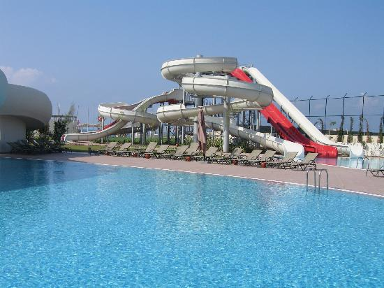 Cornelia Diamond Golf Resort & Spa: Slides