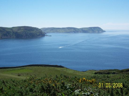 Port Erin, UK: veiw from bradda