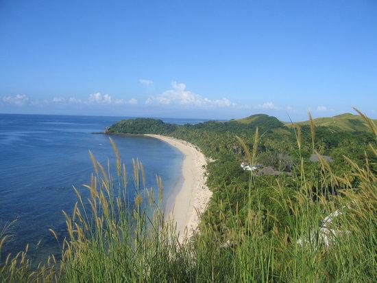 Mana Island, Fiji: View from the peak