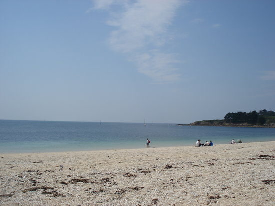 Arzon, Frankrike: Beach