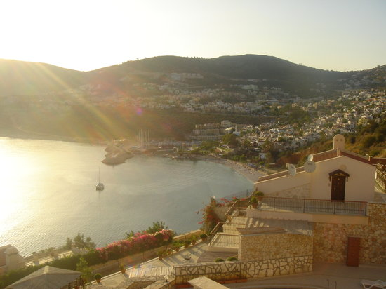 Kalkan from our villa